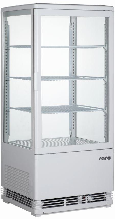 Saro Kühlvitrine Modell SC 80 weiß