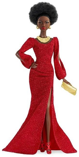 Image of Barbie 40th Anniversary First Black Barbie Doll (GLG35)