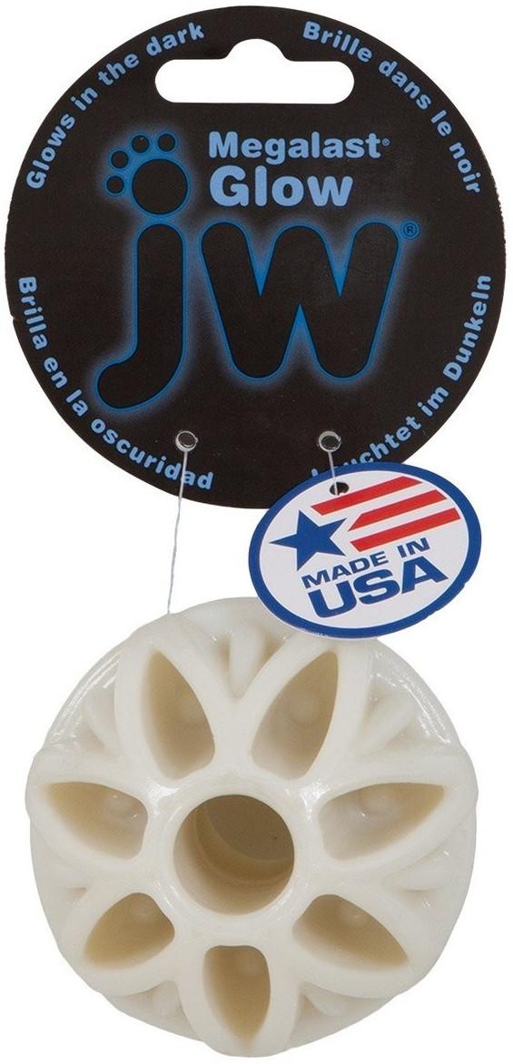 Petmate JW Pet Mega Last Glow Ball leuchtender Hundeball, 7 cm