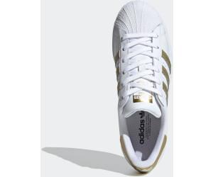 Adidas Superstar Women cloud white/gold metallic/cloud white au ...