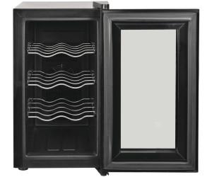vidaXL Weinkühlschrank Bar-Kühlschrank 25 l 8 Flaschen LCD-Anzeige