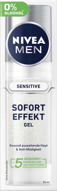 Nivea Men Men Sensitive Sofort Effekt Gel (50ml)