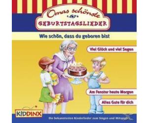 Omas Schönste Geburtstagslieder (CD)