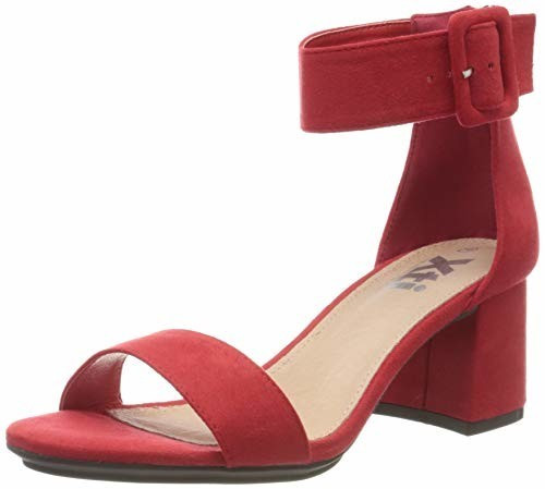 XTI Slingback Pumps (35196) red rojo