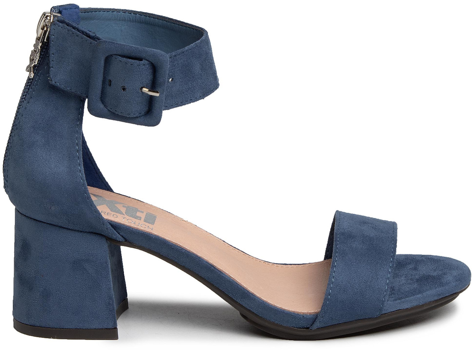 XTI Slingback Pumps (35196) blue jeans