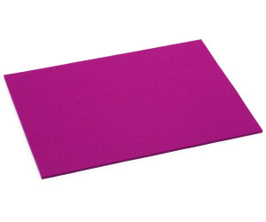 HEY-SIGN Tischset aus Natur-Filz pink 45x35