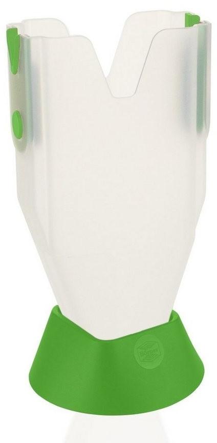 Börner Gemüsehobel Schieberbox mit Fuß Zubehör für V1, V3 und V6, grün
