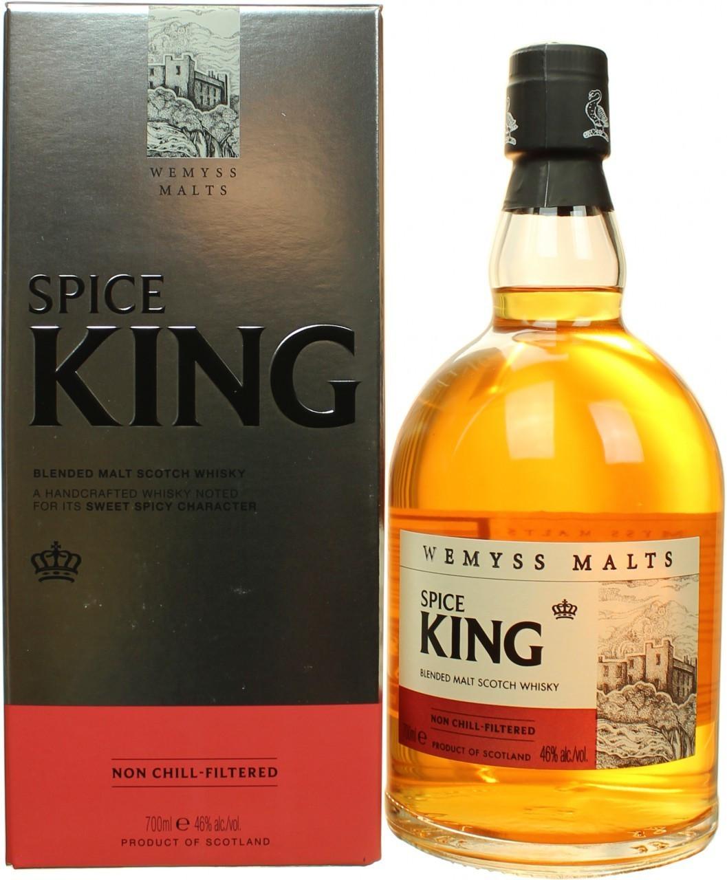 Wemyss Malts Spice King 46.0% 0,7l