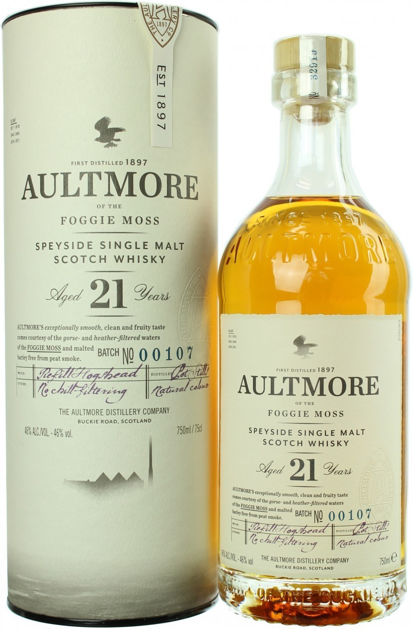 Aultmore 21 Jahre 46.0% 0,7l