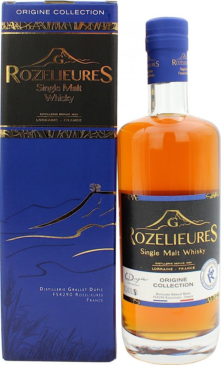 G. Rozelieures Single Malt Origine Collection 40.0% 0,7l