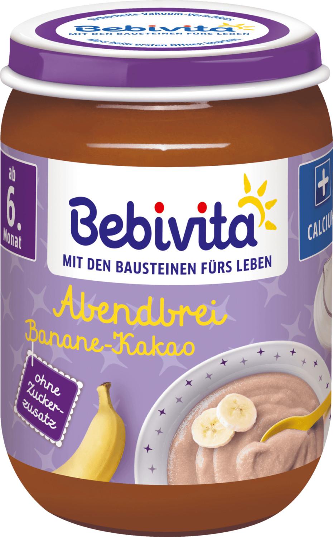 Bebivita Abendbrei Banane-Kakao (190 g)