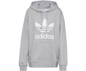 Adidas Women Originals adidas Adicolor Trefoil Hoodie Grey