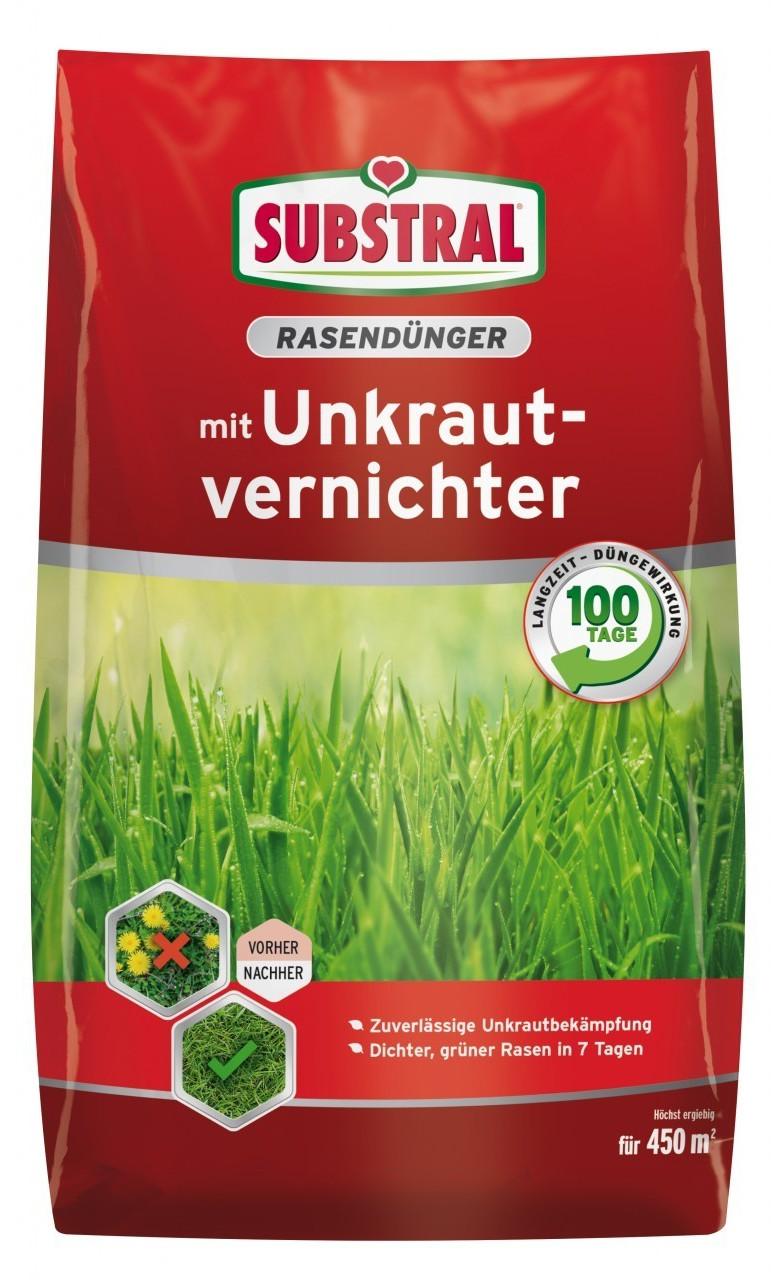 Substral Rasendünger mit Unkrautvernichter 9 kg (8217)