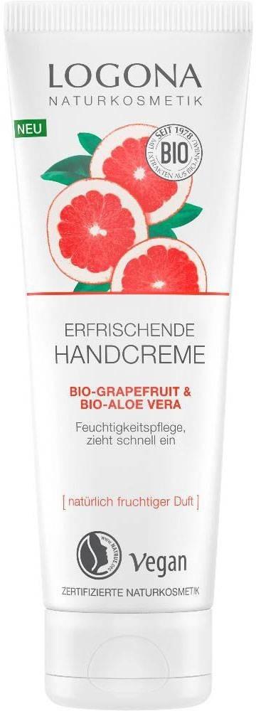 Logona Bio-Grapefruit & Bio-Aloe Vera Handcreme (75ml)