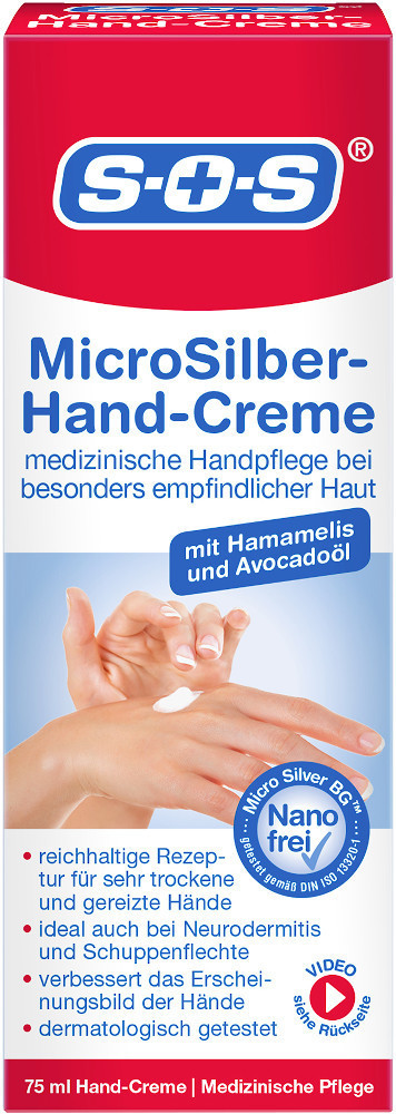 SOS MicroSilber-Hand-Creme (75ml)