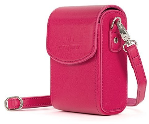 Image of MegaGear MegaGear Camera Bag with Carrying strap for Nikon Coolpix A900/A1000 pink
