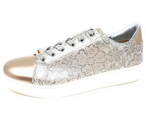 Bugatti Sneaker Low weißsilber LederMetallic | Sneaker Low