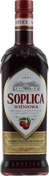 Soplica Wisniowa Kirschlikör 0,5 l 30 %