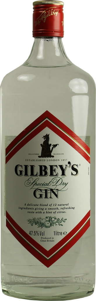 Gilbey's Special dry Gin  47.5% 1l