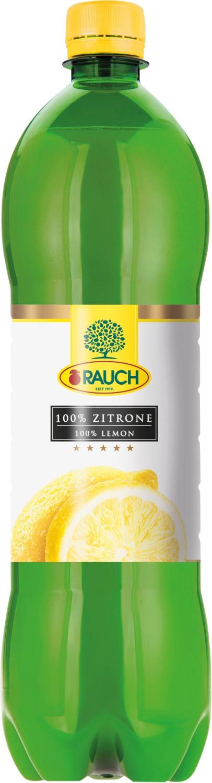 Rauch Zitronensaft aus Zitronensaftkonzentrat (1l)