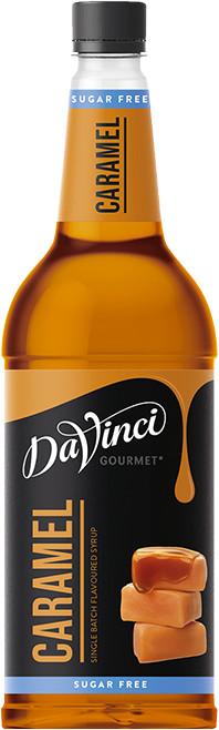 Da Vinci Gourmet Karamell Sirup zuckerfrei 1l