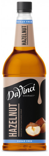 Da Vinci Gourmet Sirup Haselnuss zuckerfrei 1l