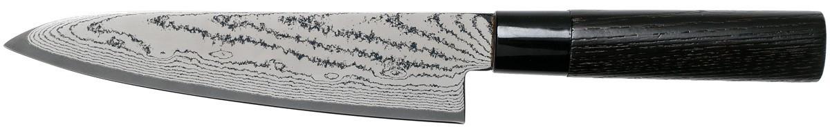 Tojiro Sippu Black Damast Kochmesser 18 cm (FD-1593)