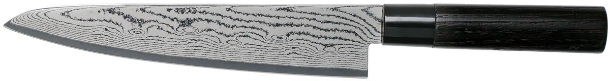 Tojiro Sippu Black Damast Kochmesser 21 cm (FD-1594)
