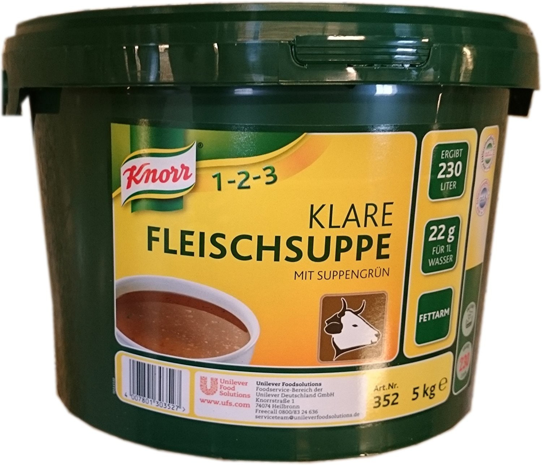 Knorr Klare Fleischsuppe 5 kg