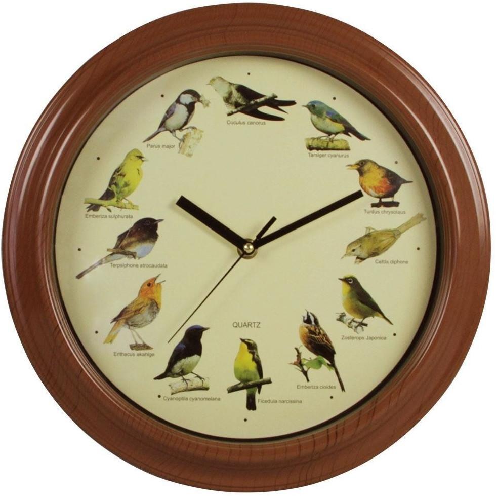 Rewa Collection Wanduhr Vogelstimmen 25cm