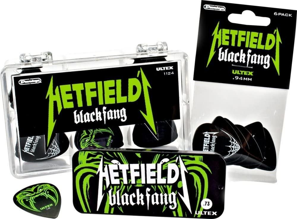 Image of Dunlop PH112T94 James Hetfield - Metallica Set of 6 Guitar Picks
