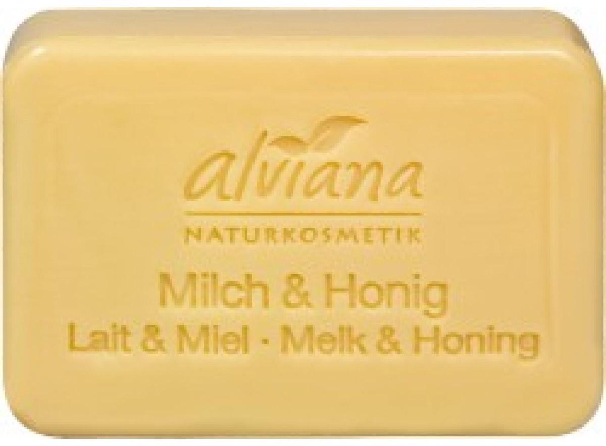 Alviana Milch & Honig Seifenstück (100 g)