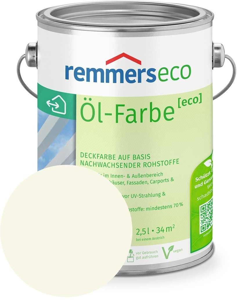 Remmers eco Öl-Farbe 2,5 l Cremeweiß