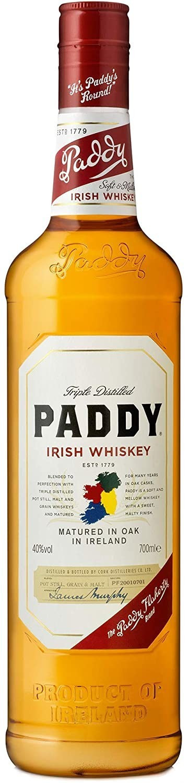 Paddy Irish Whisky, 70 cl
