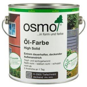Osmo Öl-Farbe 2,5 l Lichtgrau