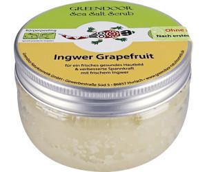 Greendoor Sea Salt Scrub Ingwer + Grapefruit (280 g)