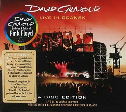 David Gilmour - Live in Gdansk (CD + DVD)