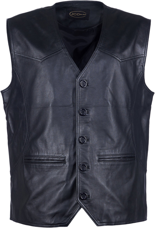 JCC Lederweste Pramo 2 black