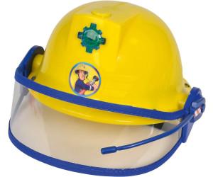 Simba Feuerwehrmann Sam Feuerwehr Helm mit Sirenen Sound & Licht