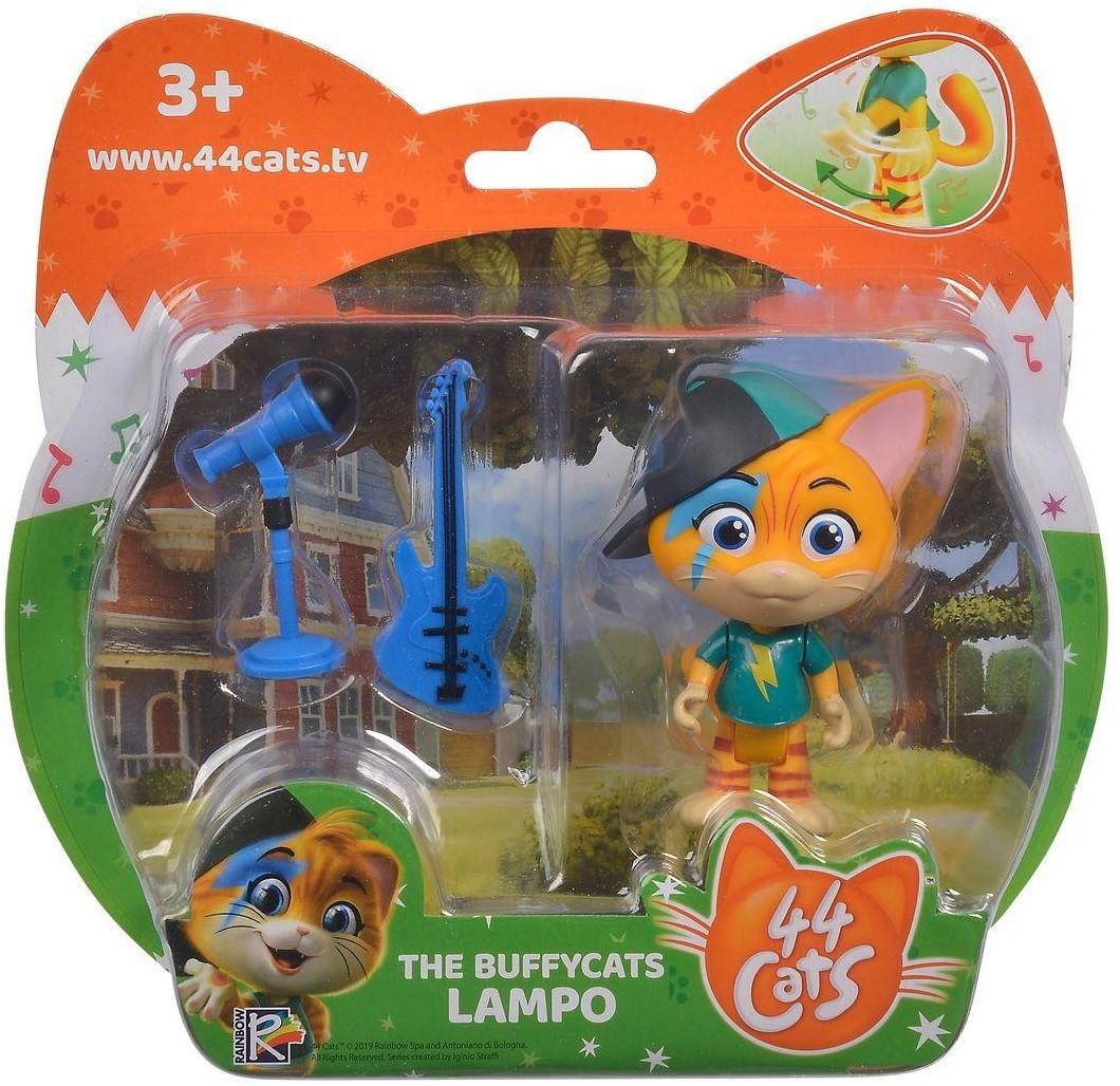 Simba 44 CATS Spielfigur Lampo mit Gitarre