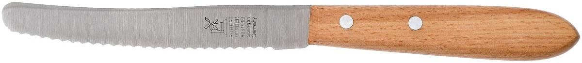 Windmühlenmesser Robert Herder Straight Classic Steakmesser Rotbuche