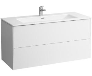 Laufen Pro S Waschtisch mit Base weiß glanz (H8649632611041)