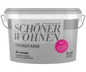 Schoner Wohnen Trendfarbe Matt 2 5 L Dreamy Ab 25 99 Preisvergleich Bei Idealo De