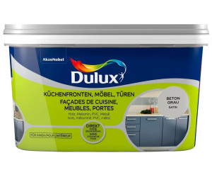 Dulux Fresh Up Küchenfronten, Möbel, Türen 2 l Beton grau satin