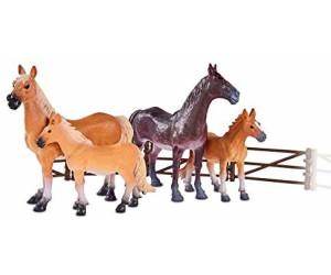 Simba 104322426 Pferde Set mit Zäunen