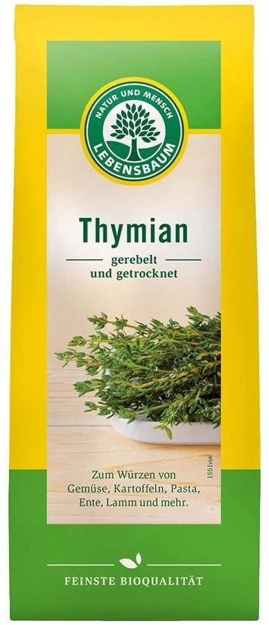 Lebensbaum Thymian gerebelt & getrocknet Bio (20g)