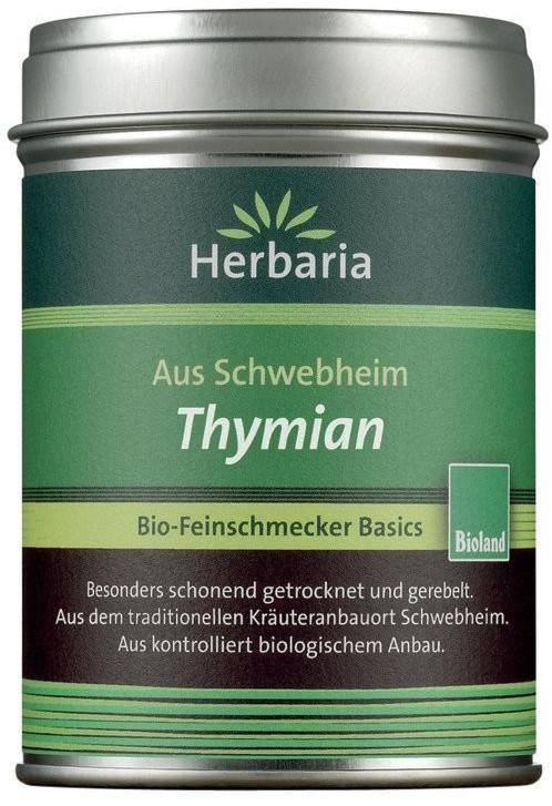 Herbaria Thymian gerebelt & getrocknet Bio (20g)