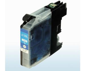 D&C ersetzt Brother LC-125 XXL C Cyan Blau Druckerpatrone für 1.200 Seiten