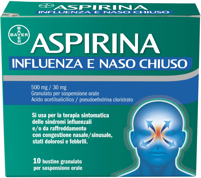 Image of Aspirina Influenza e Naso Chiuso