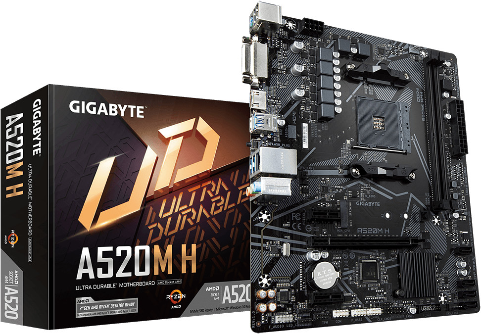 Image of GigaByte A520M H